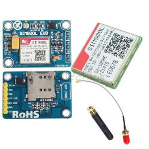 SIM800L V2.0 5V GPRS GSM TTL Port LGA Chip Quadband L Shape Antenna for Arduino