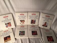 Lot of 8 READER'S DIGEST Home Medical Library AMA Books