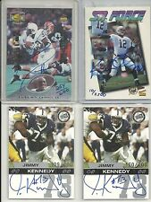 1995 Signature Rookies - KERRY COLLINS - SR FORCE  Autograph PENN STATE #10/2500