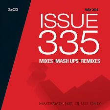 Mastermix Issue 335 Twin DJ CD Set Mixes Inc 80s Summer Euro Party Mix Remixes