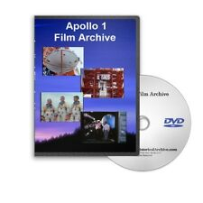 Apollo 1 Film Archive Compilation DVD Astronauts Grissom, Chaffee, White - C757