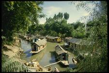 595019 Houseboats Srinagar Kashmir A4 Photo Print