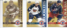 2009-10 UPPER DECK HOCKEY DAY IN CANADA - FINISH YOUR SET LOW SHIPPING RATE