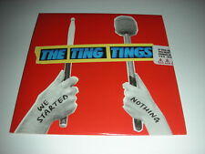 The Ting Tings - We Started Nothing - 10 Track SEALED