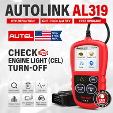 Autel Autolink AL319 OBD2 Scanner Code Reader Diagnostic Tool Engine Check I/M