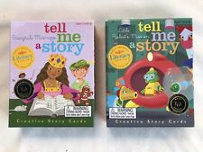 eeBoo Tell Me A Story Creative Story Cards  2 Sets Best Toy Award