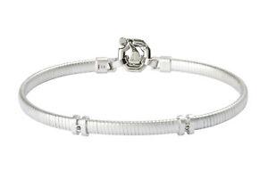 BARAKA Men's BR302166AGDN210004 Stainless Steel Black & White Diamonds Bracelet