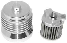 PC Racing - PCS1 - FLO Spin On Stainless Steel Oil Filter (DIsplay)