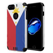 Dual Layer Armor Case for iPhone 7 Plus / 6s Plus / 6 Plus - Philippines Flag