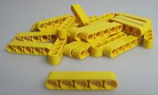 LEGO® Technic 20x Liftarm 1 x 5 NEU 32316 Lochbalken in gelb aus Set 8043 42030
