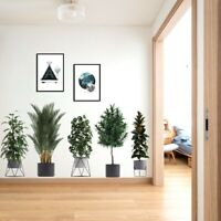 Pot Plants Flower Wall Stickers Vinyl Decal Kids Nursery Decoration Art Mural AU