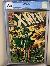 X-MEN #50 CGC 7.5 CR/OW Pages. 2ND APPEARANCE OF POLARIS.