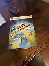 Microsoft Flight Simulator X: Acceleration Expansion Pack PC DVD - New Sealed