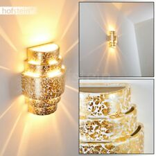 Luxus Flur Wand Lampe Keramik Gold Up Down Leuchte Wohn Schlaf Raum Licht Effekt