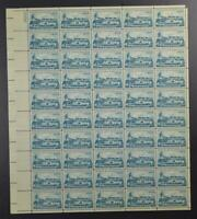 US SCOTT 1128 SHEET OF 50 ARCTIC EXPLORATIONS STAMPS 4 CENT FACE MNH