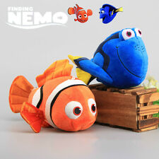 2pcs Cute Disney Movie Finding Nemo & Dory Figures Soft Plush Doll Kids Toy Gift