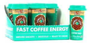 6 Count Forto 2 Oz Donut Shop Coffee Sweet Creamy Latte Coffee Shot