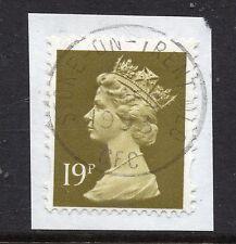 GB = QE2 Postmark - `STOKE-ON-TRENT MLO (CFC)` 1993 Single Ring cancel. (a)
