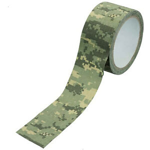 SE Survivor Series Digital Camouflage Cloth Tape 16ft Long 2in Wide
