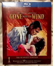 Gone With the Wind Blu-ray 3-Disc Set The SCARLETT Edition w/ Slipcover RARE OOP