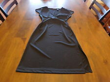 New York & Company Size Small (4-6) Simple Black Dress