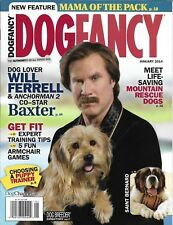 Dog Fancy magazine Will Ferrell and Baxter Mountain rescue canines Puppy trainer