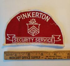 Pinkerton Security Services patch - SHOULDER PATCH - nice
