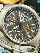 Very Rare Sinn 157 ST Day-Date Automatik Chronograph-Lemania 5100-Fliegeruhr