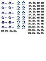 SVM-8737 HO Scale CAT IT18F Loader Decals single set Decals ONLY