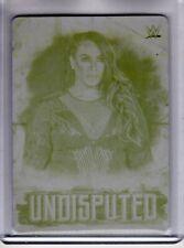 2018 Topps WWE Undisputed NIA JAX #30 Wrestling 1/1 PRINTING PLATE Rare SP CARD