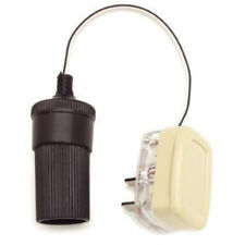 W4 12V ADAPTOR TO 12V PLUG CIGAR LIGHTER SOCKET TO 2 PIN CLIPSAL TYPE PLUG 00050