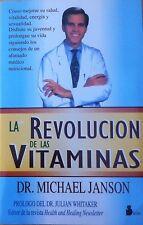 La Revolución de las Vitaminas Dr Michael Janson Complementos dietéticos