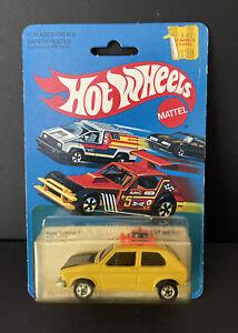 Hot Wheels 1981 Yellow Hare Splitter #2504  NIB Good Condition