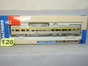 WALTHERS HO SCALE #932-16481 DELAWARE & HUDSON 85' BUDD DOME PASSENGER COACH NEW