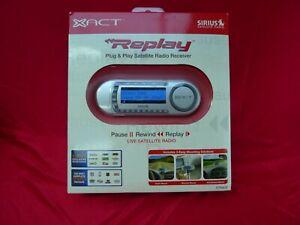 XACT Replay Plug and Play Sirius Satellite Radio XTR8CK **FACTORY SEALED**