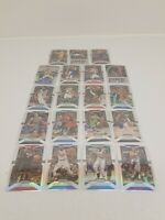 2019-20 SILVER PRIZM LOT OF 19 CARDS!!! NBA BASKETBALL