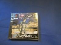 PlayStation PS1 PSX Louvre final curse Boxed PAL W/ manual game
