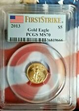 2013 1/10 oz Gold American Eagle MS-70 PCGS