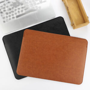 For Apple Macbook Pro 16inch 2019 A2141 Leather Sleeve Bag Case Protective Cover