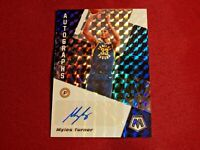 2019-20 Panini Mosaic MYLES TURNER Silver Prizm Auto #AM-MTN *INDIANA PACERS*