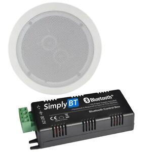 """CASTER AV 30W Bluetooth 6.5"""" Single Stereo Ceiling Speaker System"""