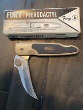 Vintage Fury Pterodactyl 50018 440 Stainless Steel Japan