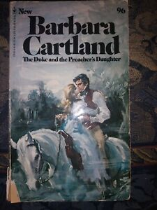 The Duke and the Preacher's Daughter by Barbara Cartland (1992, paperback)