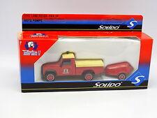 Solido Pompiers 1/43 - Land Rover Pick Up + Moto Pompe