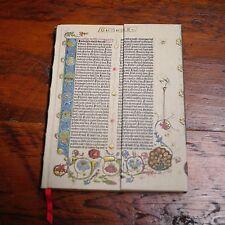 NEW PaperBlanks Gutenberg Bible Genesis Hardback Blank JOURNAL Notebook Diary