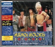 Sealed HANOI ROCKS Story JAPAN CD PPD-3086 w/OBI 1990 issue MICHAEL MONROE FreeS