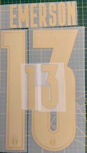 FLOCAGE EMERSON 13 Italia Home Euro 2020 Domicile Nameset. Italie