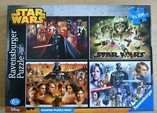 Ravensburger Star Wars 4x 100 piece jigsaw puzzle Darth Vader factory sealed bag