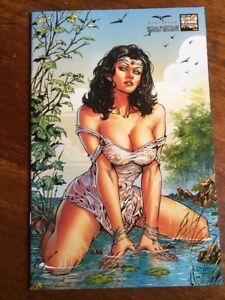 Grimm Fairy Tales #96 Malsuni Salt Lake City Variant LTD 250