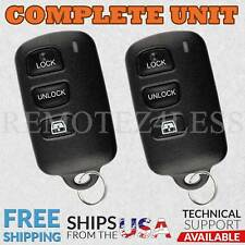 2 For 2004-2006 Toyota Sequoia Keyless Entry Remote Car Key Fob Win ELVATDD